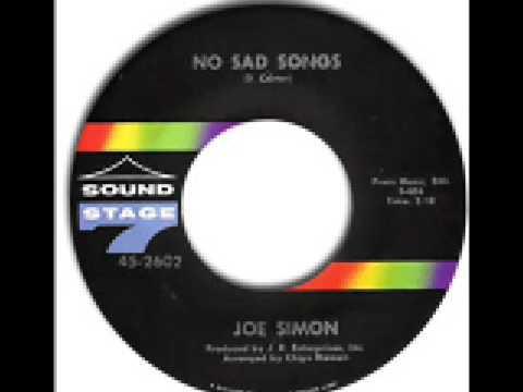joe simon - no sad songs