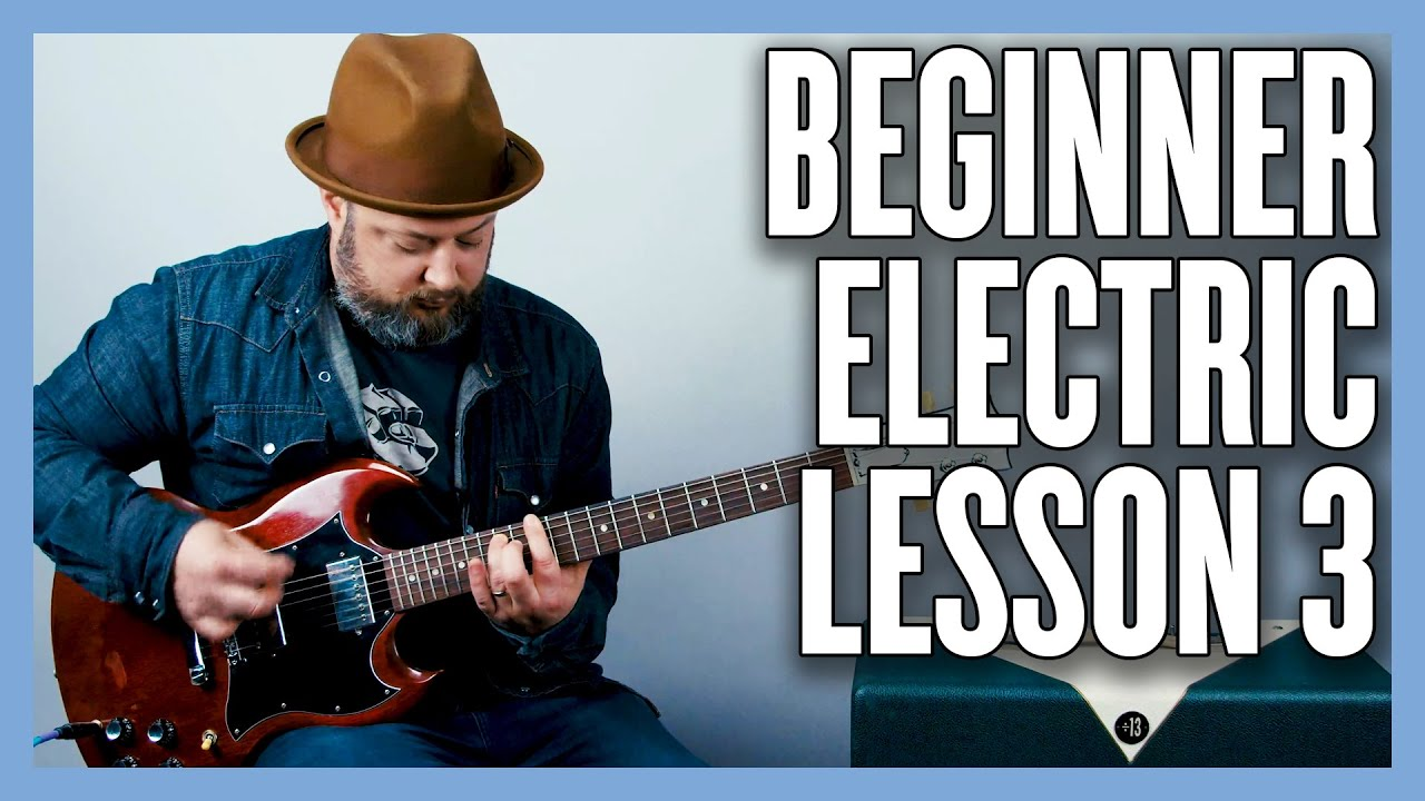 Beginner Electric Guitar Lesson 3 - Power Chords