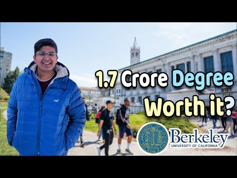 what-you-get-with-1.7-crore-degree?-uc-berkeley-journey