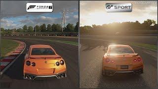 Forza Motorsport 7 vs Gran Turismo Sport - 2017 Nissan GT-R at Suzuka