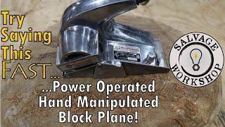 Power Block Plane ~ RESTORATION