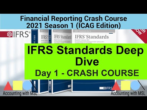 Financial Reporting Crash Course - IFRS Deep Dive (Day 1) - Financial Reporting Lectures