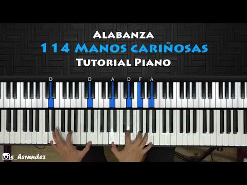 114 Manos Cariñosas Piano Tutorial