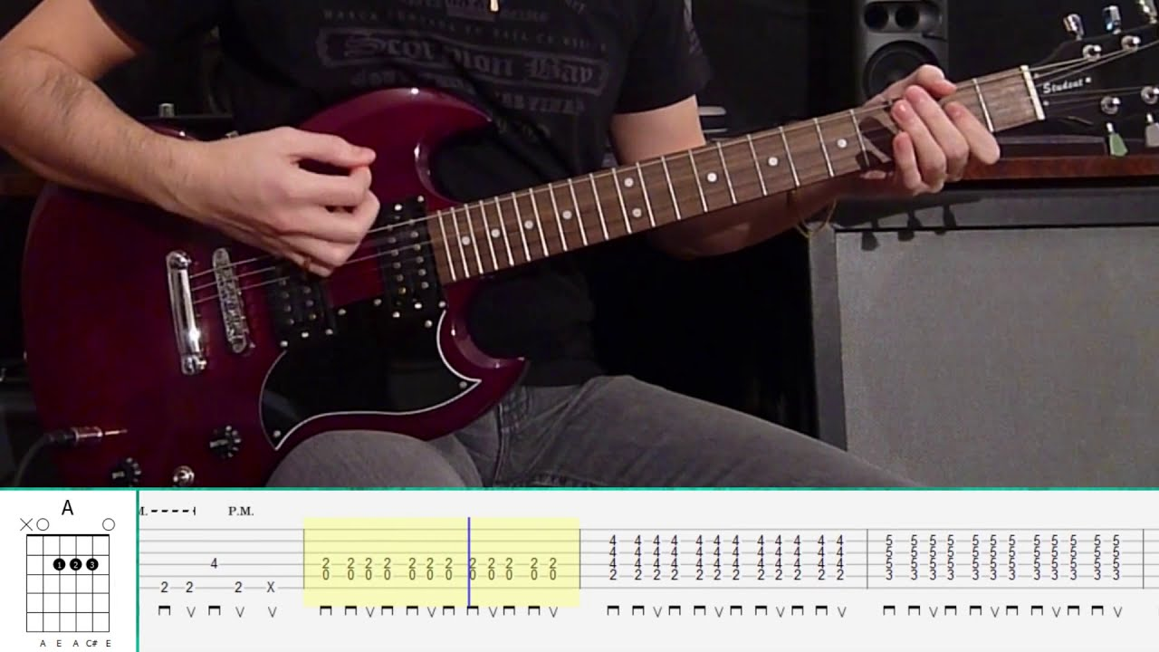 Led Zeppelin - Immigrant Song (Guitar Tutorial) - YouTube