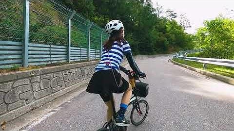 미니벨로 다혼 타고 강원도 정선 돌아보기  Gangwon-do Jeongseon Bicycle Tour
