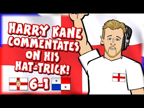 🎙️HARRY KANE COMMENTATES ON HIS HATTRICK!🎙️ (England vs Panama 6-1 Highlights Goals Parody)