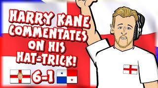 🎙️HARRY KANE COMMENTATES ON HIS HATTRICK!🎙️ (England vs Panama 6-1 Highlights Goals Parody)