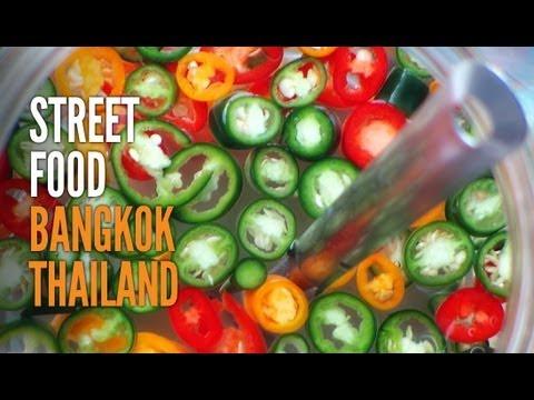 Thai Street Food - Bangkok Thailand - HD