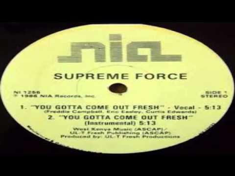 Freddie Foxxx - You Gotta Come Out Fresh...