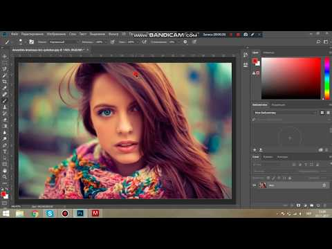 Как покрасить волосы (Photoshop)