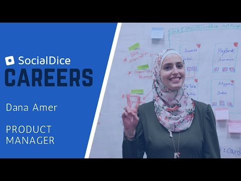 SocialDice Careers | Meet Our Product Manager: Dana Amer