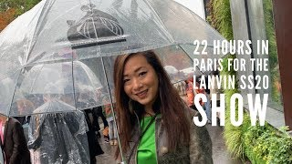 22 Hours in Paris for the Lanvin SS20 PFW Show | wenwen stokes