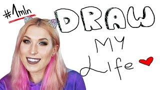 ✏️ Draw My Life! Specjal na milion subskrypcji! ❤️| Agnieszka Grzelak Vlog