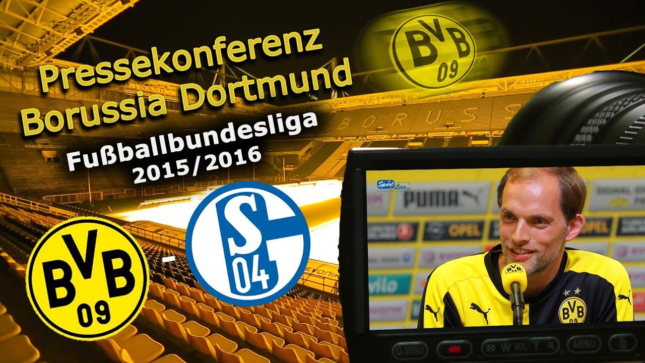 Borussia Dortmund - FC Schalke 04: Pressekonferenz vor dem 147. Revierderby