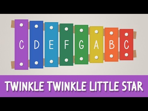 How to play Twinkle Twinkle Little Star on a Xylophone - Easy Tutorial - YOUCANPLAYIT.COM
