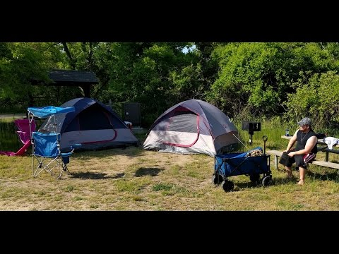 Camping at Sandy hook, NJ and Wildwood adventures