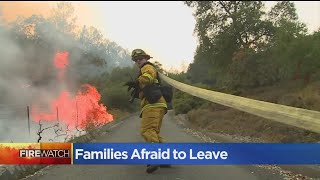 Families In Calistoga Fear Evacuating Means They Might Lose Everything