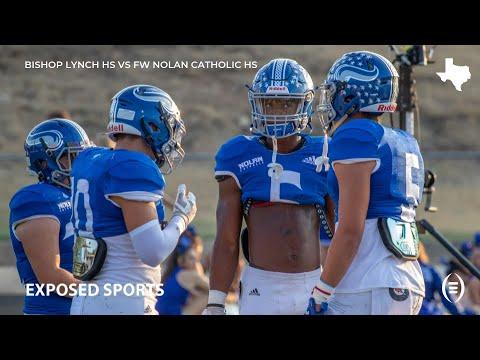 Bishop Lynch High School vs Fort Worth Nolan Catholic High School Highlights | 2019 Texas Football