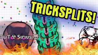 TRICKSPLIT GAMEPLAY // Agario Gameplay // TYT Agar.io