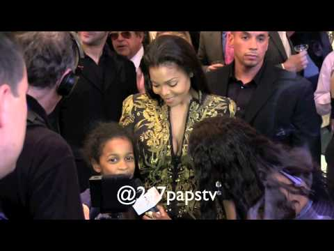 Janet Jackson makes a young girl's dreams come true in NYC