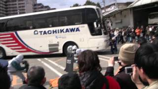 警視庁・昭島警察署によるバスジャック訓練の公開