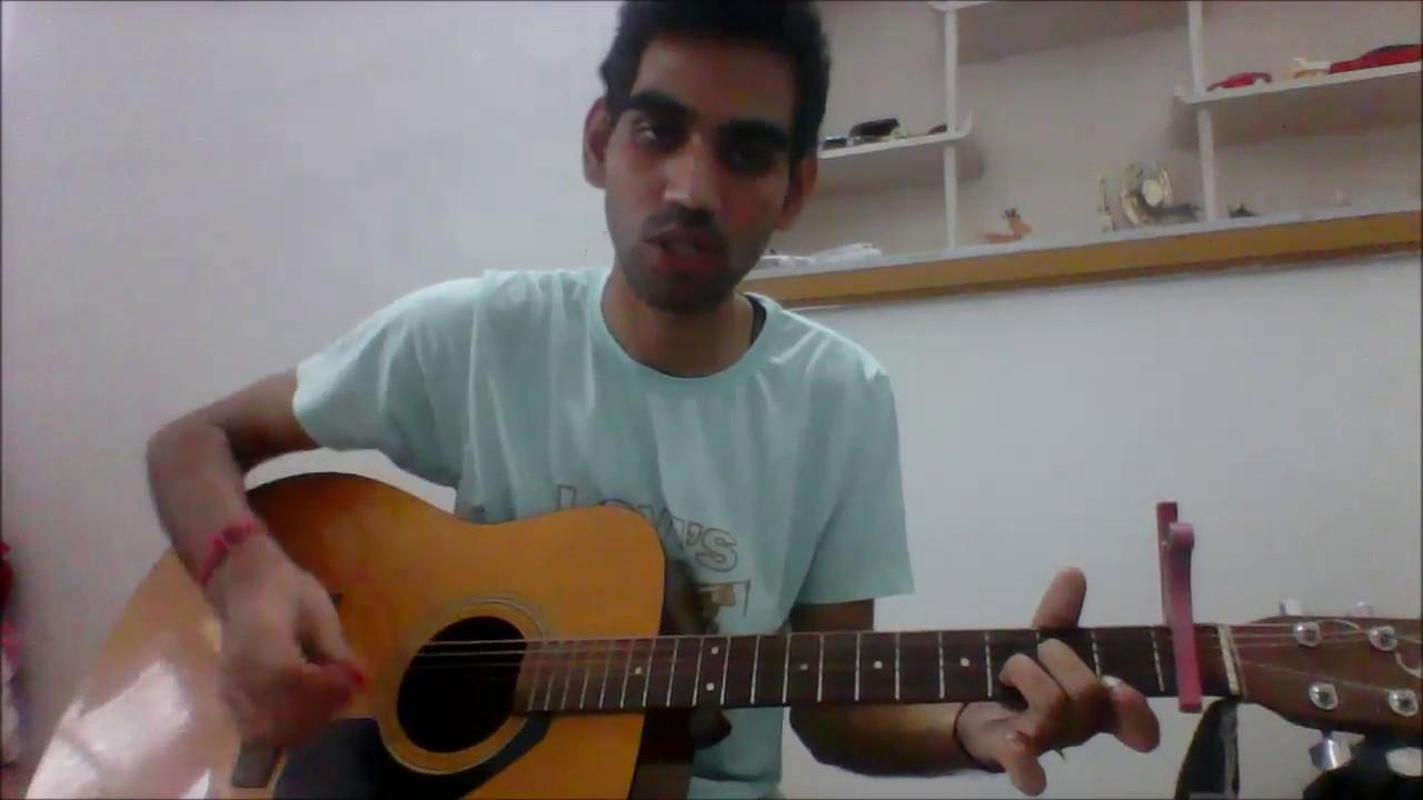 Teri Galliyan - Unplugged -COMPLETE GUITAR COVER LESSON CHORDS - Shraddha kapoor ankit tiwari ...