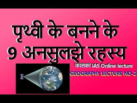 FOR IAS/IPS/PSC Geography lecture-2 by kalka ias