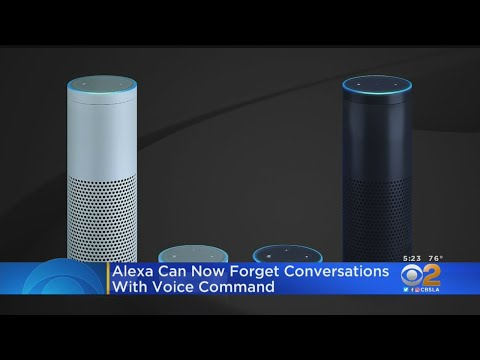 Rich Lauber - You Can Now Tell Amazon's Alexa To Forget The Day's Recordings!