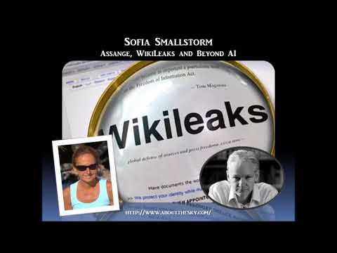 Sage of Quay Radio Hour - Sofia Smallstorm - Assange, WikiLeaks and Beyond AI (Sept 2017)