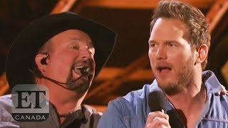 Chris Pratt Sings With Garth Brooks