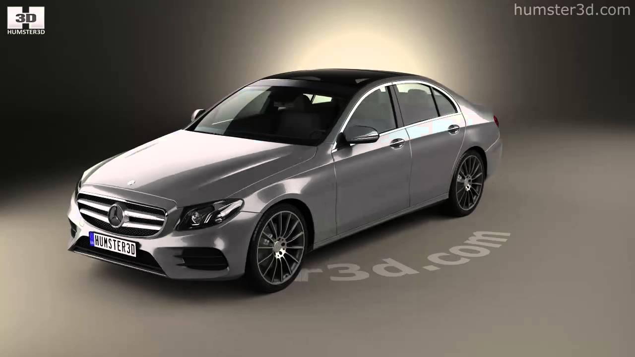 Mercedes Benz E Class W213 Amg Line 2016 3d Model By