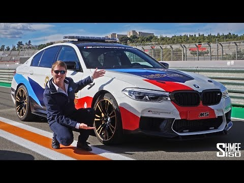 I Drove the BMW M5 Safety Car! | REVIEW