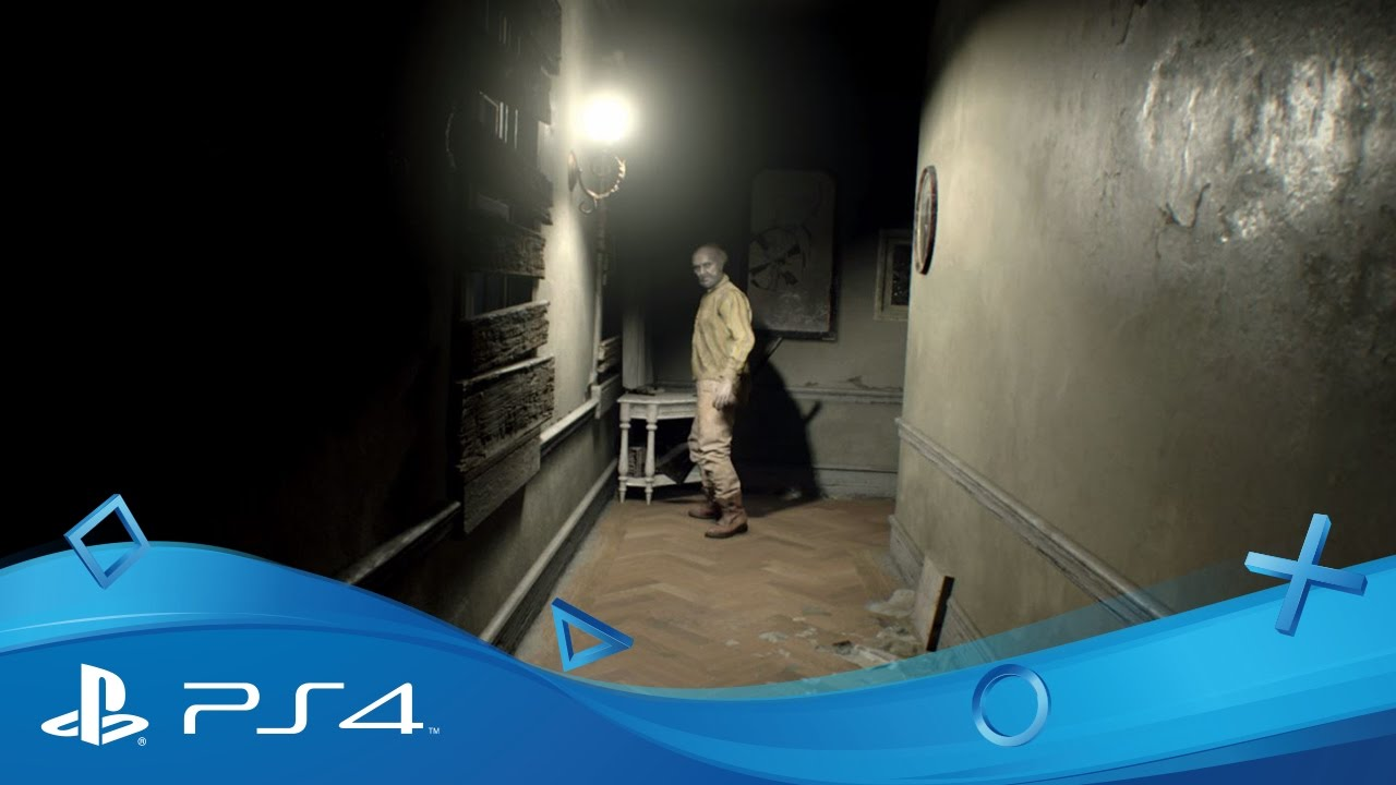 Resident Evil 7 Gameplay Footage Part 1 Ps4 Youtube