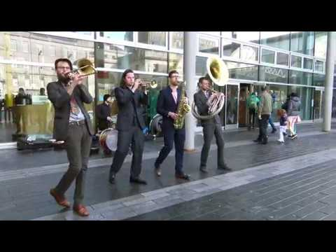 2018 Aberdeen Jazz Festival starts with a New Orleans sound from Brass Gumbo in Union Square