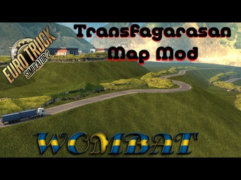 ETS2 - Map of Transfagarasan for ETS2 v1.30