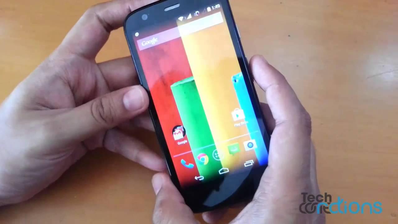 How To Take A Screenshot On The Motorola Moto G