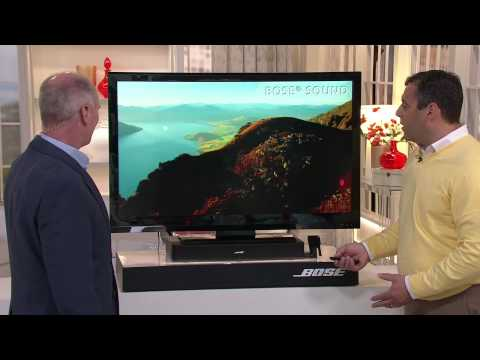 Bose Solo TV Sound System with Dan Hughes
