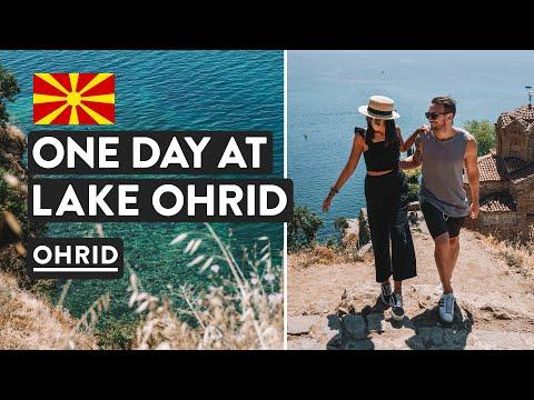 Europe's Best Lake? Where Albania & Macedonia Meet | Skopje To Ohrid Tour