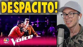 "The Voice 2017 Mark Isaiah, Luis Fonsi & Daddy Yankee - Finale: ""Despacito"" Reaction"