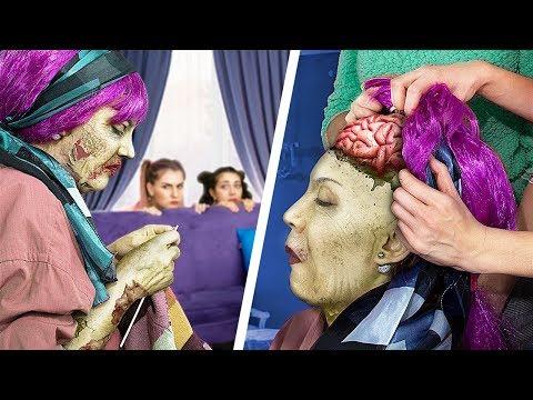 Что делать, если твоя бабушка – зомби! 13 зомби-идей!