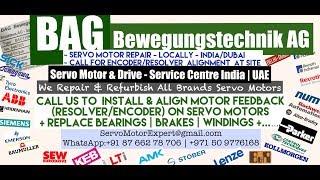 BAG Bewegungstechnik Dubai Servo Motor Encoder Resolver Heidenhain Repair UAE Kuwait Saudi KSA