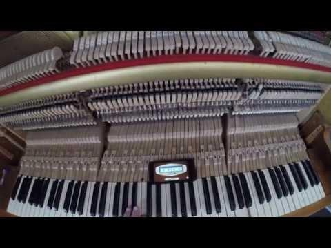 настройка пианино в домашних условиях