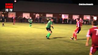Wisbech Town v Sleaford Town - UCL - 02/09/14