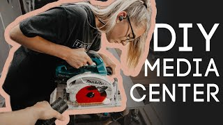 DIY Media Center With Minimal Tools | Part 2