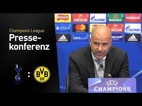 """We weren't properly organized"" - Press Conference with Peter Bosz | Tottenham Hotspur - BVB 3:1"