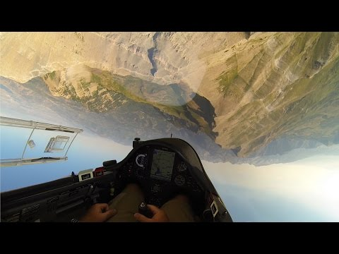 Gliding Over Uinta Mountains - with loops for the hikers