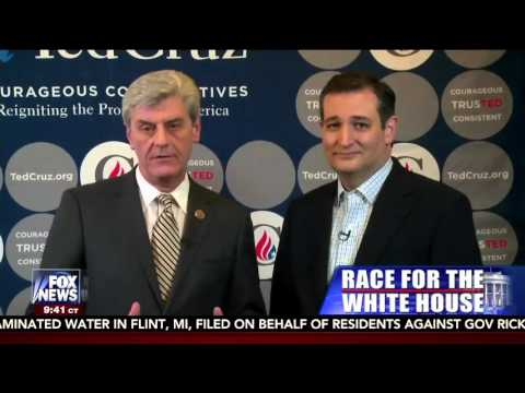 Mississippi Governor Phil Bryant Endorses Ted Cruz for President | March 7, 2016
