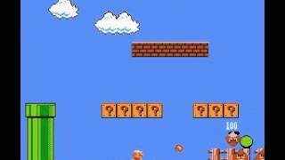 Super Mario Bros - SMB how to be a small fire shooter - User video