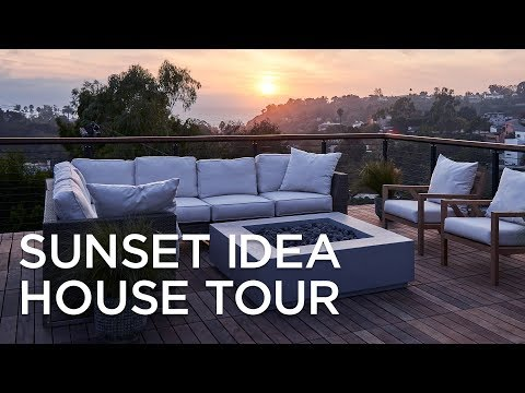 Sunset Idea House Tour Santa Monica 2019 - Lamps Plus
