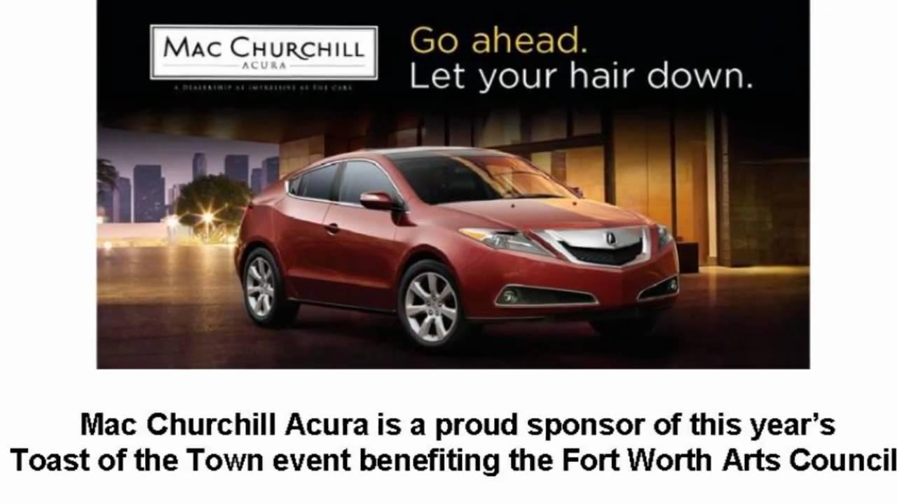 Win the Use of a 2010 Acura ZDX from Mac Churchill Acura - YouTube